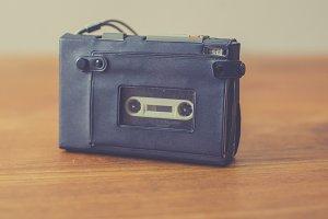 Vintage cassette recorder