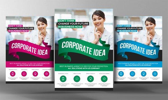 Corporate Business Idea Flyer