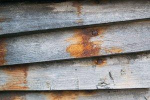 wooden background with seam grey