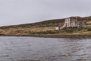 Abandoned Castle like House