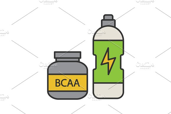 BCAA supplement color icon