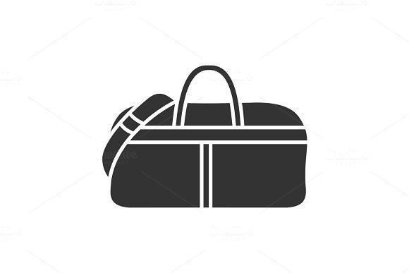 Sports Bag Glyph Icon