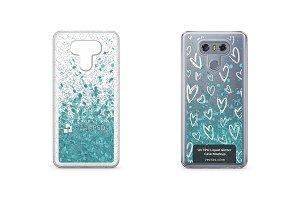 LG G6 UV TPU Liquid Glitter Case
