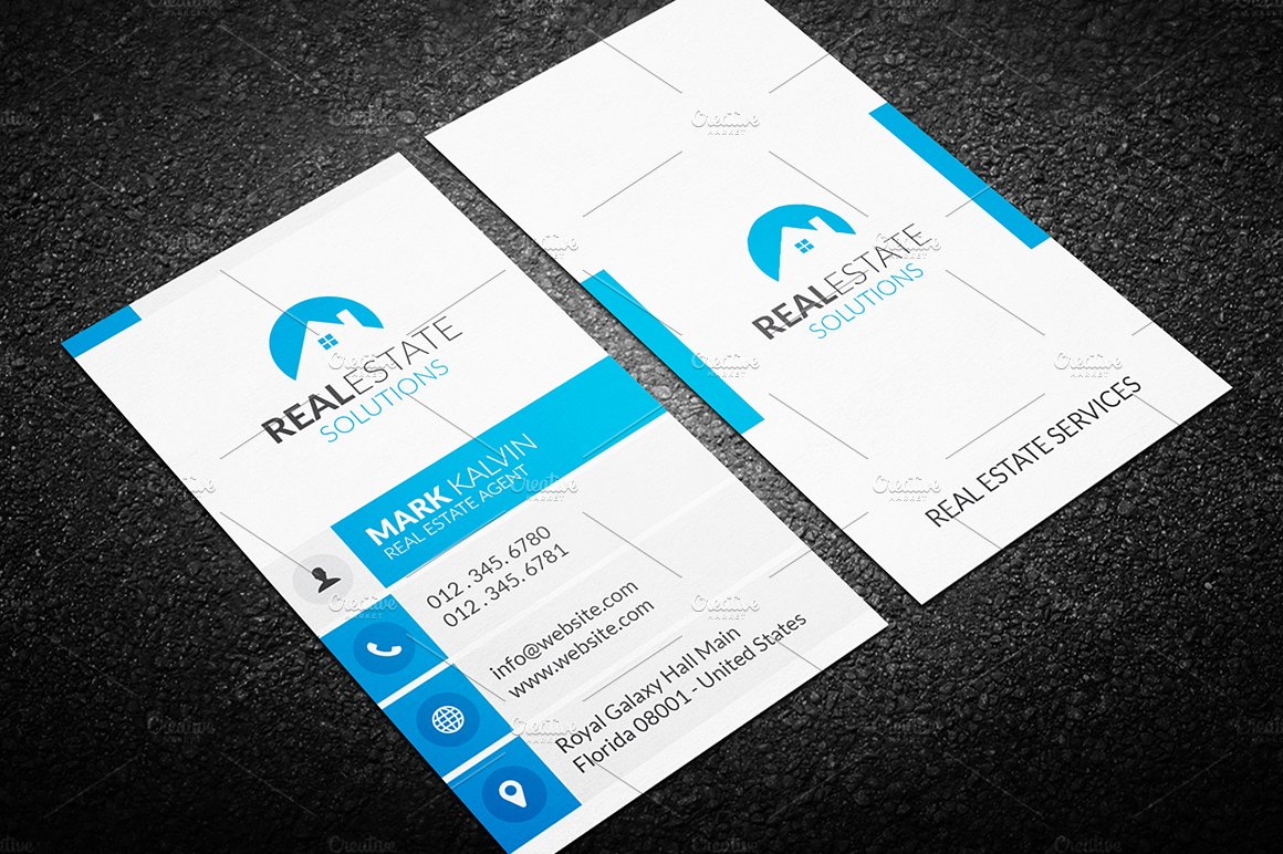 Made by arslan arslan business cards collection creative market real estate business magicingreecefo Choice Image