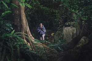 Adventure travel photographer