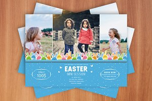 Easter Mini Sessions Template