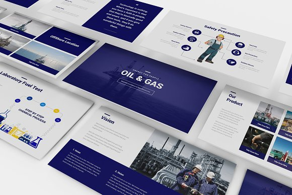 Oil and gas powerpoint template presentation templates creative oil and gas powerpoint template presentation templates creative market toneelgroepblik Gallery