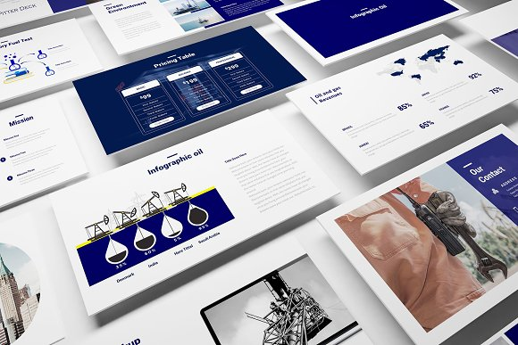 Oil and gas powerpoint template presentation templates creative oil and gas powerpoint template presentation templates creative market toneelgroepblik Images