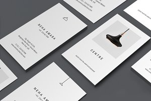 C E N T R E — Business Cards