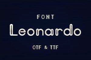 Leonardo font