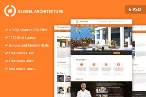 Architecture PSD Website Templates