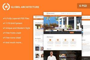 Architecture PSD Website Templates