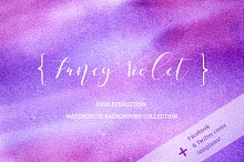 Fancy Violet - background set