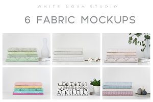 Fabric Mockup Bundle #1