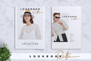 RATTU Lookbook + Premium Font