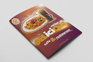 Cafe & Restaurant Menu Pack 05