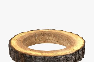 Wood Log Ring