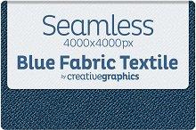 Seamless Blue Fabric Textile Texture