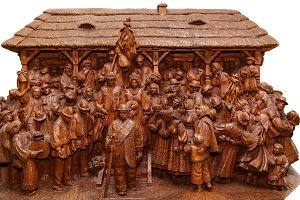 wood carving Ukraine