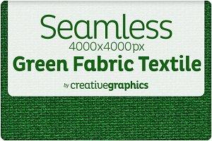 Seamless Green Textile Texture