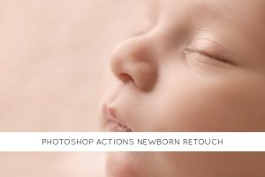 22 Photoshop actions newborn retouch