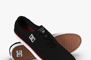 DC Shoes - Flash TX Black-Red