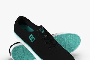 DC Shoes - Flash TX Black-Turquoise