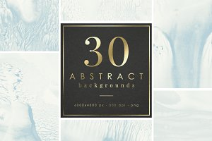 25% Off! 30 ABSTRACT BACKGROUNDS