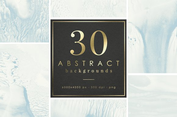 30 ABSTRACT BACKGROUNDS