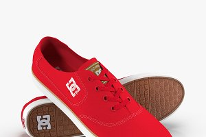 DC Shoes - Flash TX Red