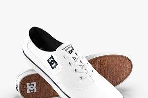 DC Shoes - Flash TX White