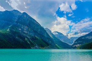Lake Louise Mountains