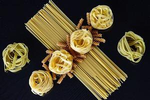 Geometry with spaghetti, tagliatelle