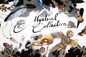 Mystical Collection - Watercolor Set