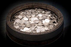 Silver Money Barrel v1
