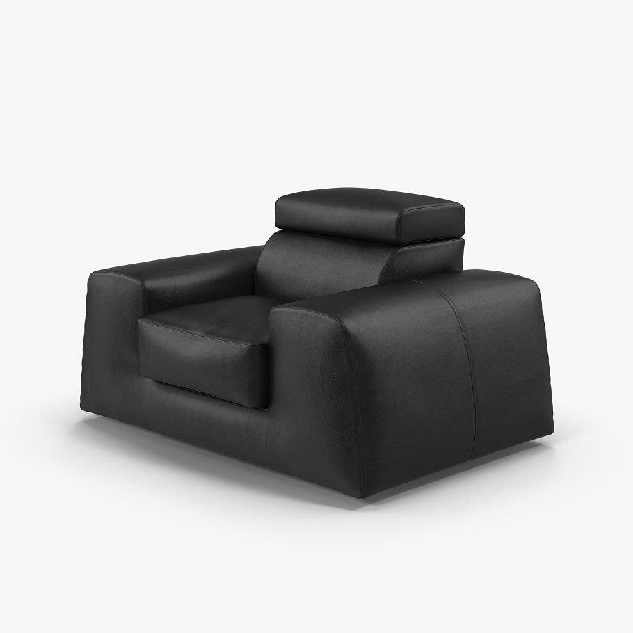 Leather armchair BOSS
