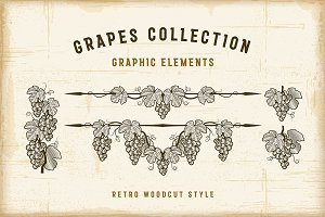 Retro Grapes Collection