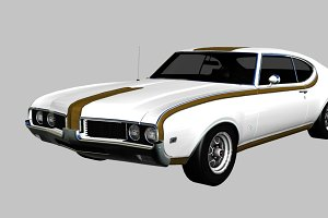 1969 Oldsmobile Hurst-Olds 442