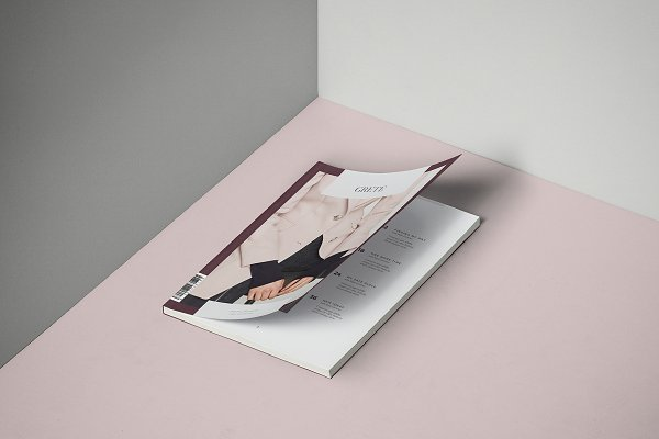 Magazine Templates - Grete Magazine Template