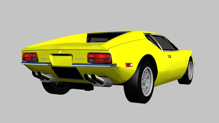 1971 De Tomaso Pantera in Vehicles - product preview 1