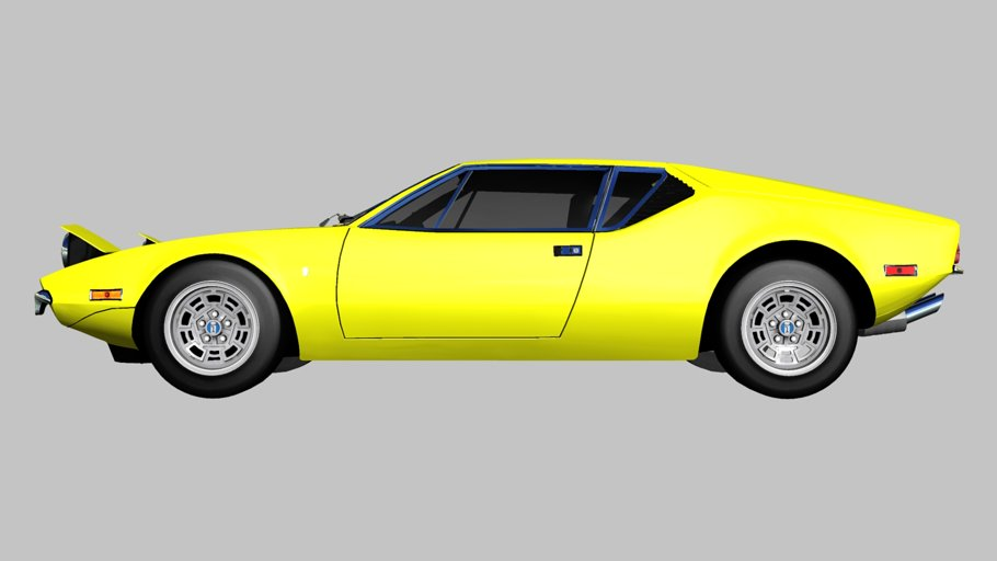 1971 De Tomaso Pantera in Vehicles - product preview 2