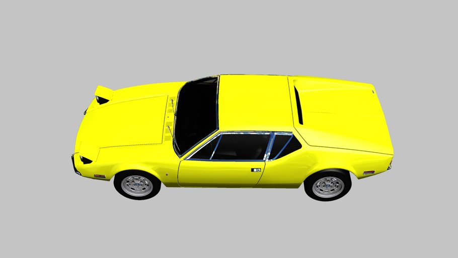 1971 De Tomaso Pantera in Vehicles - product preview 3