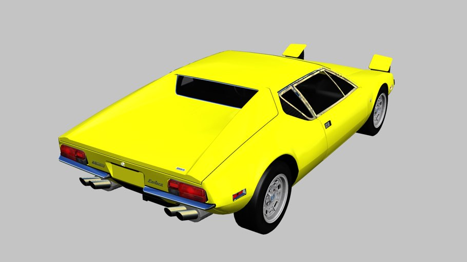 1971 De Tomaso Pantera in Vehicles - product preview 6