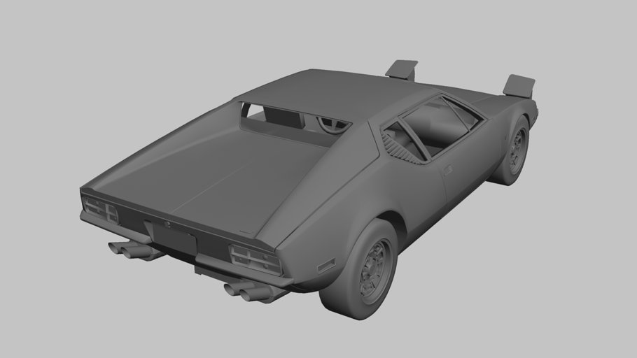 1971 De Tomaso Pantera in Vehicles - product preview 7