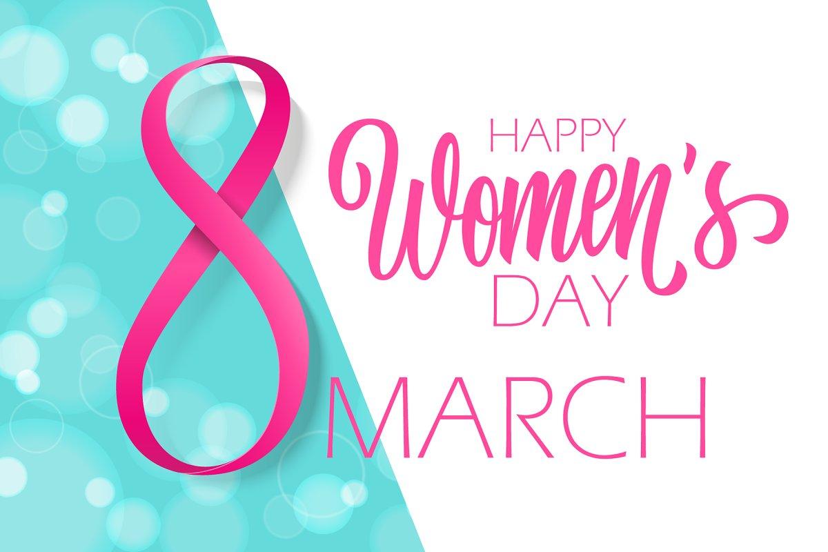Happy Womens Day Graphics Creative Market