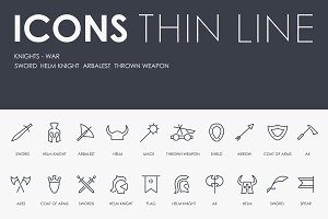 Knights thinline icons