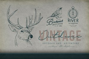 Outdoor Vintage Logos Illustrations