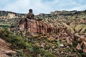 Landscape Of Rocky Canyon
