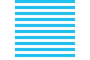 blue stripes vector background with horizontal lines.