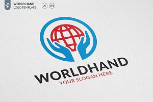 World Hand Logo